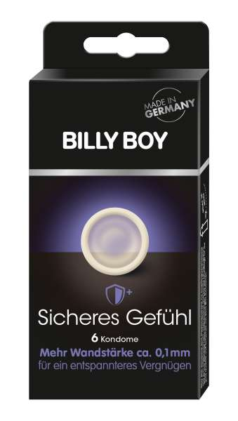BILLY BOY Sicheres Gefühl 6 St. SB-Pack.
